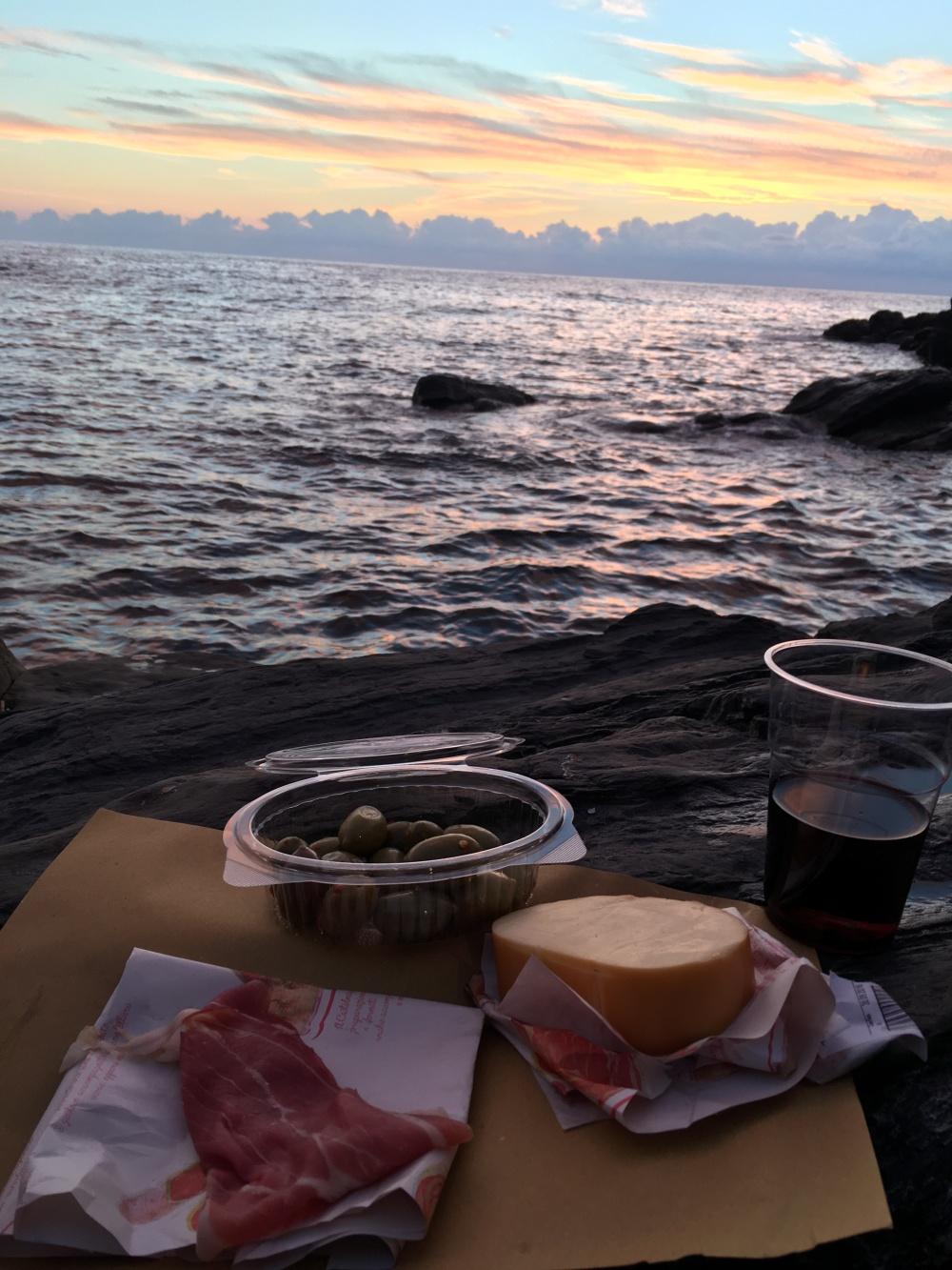 rio sunset dinner